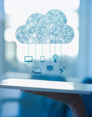 Организация работы компании в облаке картинка
